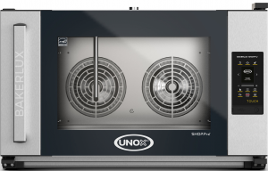 UNOX Bakerlux SHOP Pro Touch Convection Oven With Humidity 4 Tray 600 x 400 Left Opening