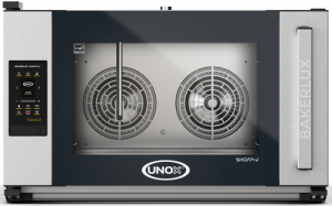 UNOX Bakerlux SHOP Pro Touch Convection Oven With Humidity 4 Tray 600 x 400 Right Opening