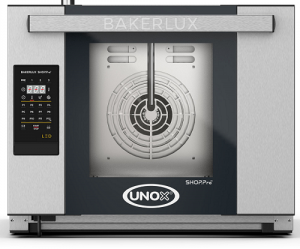 UNOX Bakerlux SHOP Pro LED Convection Oven With Humidity 4 Tray 460 x 330