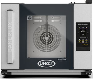 UNOX Bakerlux SHOP Pro Touch Convection Oven With Humidity 4 Tray 460 x 330 Left Opening