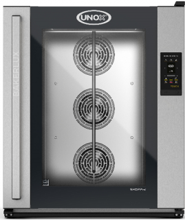 UNOX Bakerlux SHOP Pro Touch Convection Oven With Humidity 10 Tray 600 x 400 Left Opening