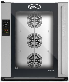 UNOX Bakerlux SHOP Pro Touch Convection Oven With Humidity 10 Tray 600 x 400 Right Opening