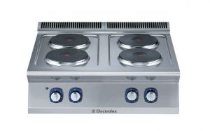 Electrolux 700XP 4 x Round Plate Electric Cook Top