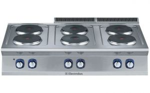 Electrolux 700XP 6 x Round Plate Electric Cook Top