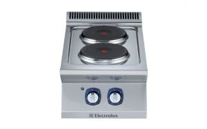 Electrolux 700XP 2 x Round Plate Electric Cook Top
