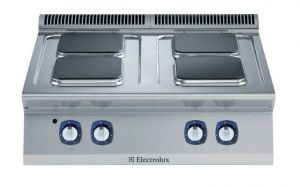 Electrolux 700XP 4 x Square Plate Electric Cook Top