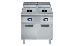 Electrolux 900XP single Pan 15L + 15L Gas Deep Fryer