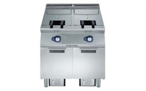 Electrolux 900XP single Pan 23L + 23L Gas Deep Fryer