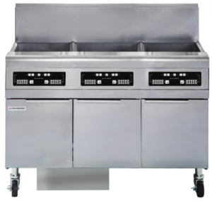 Frymaster 3 x 25 Ltr Oil Conserving Built in Filtyration System Fryer