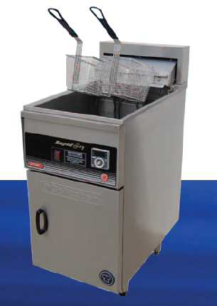 Goldstein Split pan 2 basket electric Fryer 34 Litre Rapid recovery line up model
