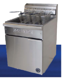 Goldstein Single pan 3 Basket gas Fryer 36 Litre High Performance Line up Model