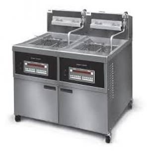 Henny Penny Open Gas Fryer Double Well 340 Series OFG 342