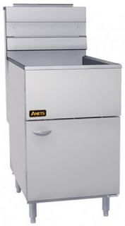 Anets Silverline Large Single Pot Gas Fryer