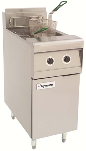 Frymaster twin pan gas Deep Fryer 2 x 12.5lt capacity