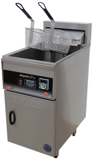 Goldstein Single pan electric Fryer 32 Litre Rapid recovery line up Model
