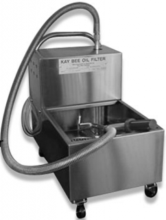 Kaybee 35 litre capacity Oil Filter machine for Fryers