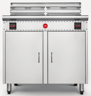 Cookon Commercial Double Tank Gas Deep Fryer