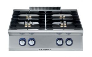 Electrolux Professional 700XP 4 x gas burner cooktop
