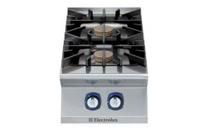 Electrolux Professional 900XP 2 x gas burner cooktop