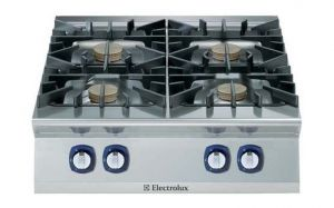 Electrolux Professional 900XP 4 x gas burner cooktop