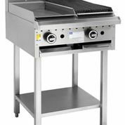 LUUS 300MM WIDE GRILL & 300MM WIDE BBQ WITH SHELF