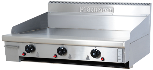 Goldstein 915mm wide gas Griddle Bench top Model