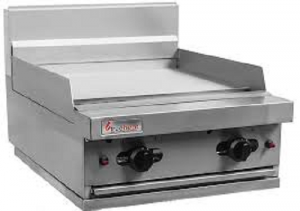 Trueheat 600mm wide gas Griddle Cooktop 600mm Wide