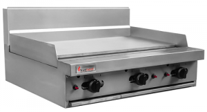 Trueheat 900mm wide gas Griddle cooktop
