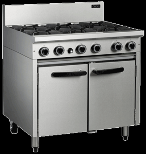 Cobra 900mm 6 Open Burners with Gas Static Oven Range