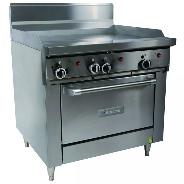 Garland 900mm Griddle Top & Gas Oven Range