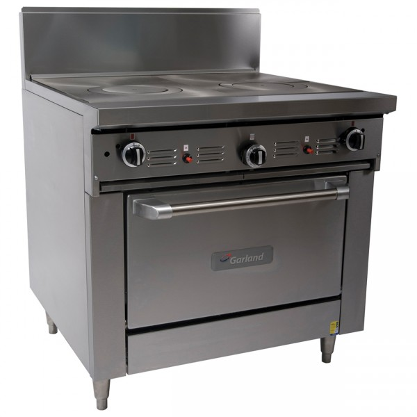 Garland 900mm Gas Convection Oven Range With Dual Gas Target Top