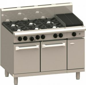 LUUS PRO 2 BURNERS 300MM BBQ WITH GAS OVEN RANGE