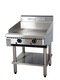 Goldstein 800 series 610mm Wide Electric Griddle on Stand