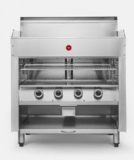 Cookon Gas Griddle Toaster GT Series 600mm Wide