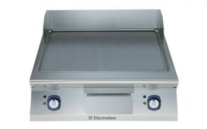 Electrolux 900XP 800mm wide Electric Griddle Chrome Plate