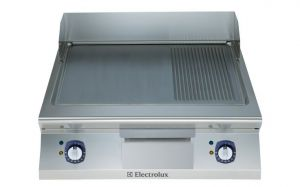 Electrolux 900XP 800mm wide Electric Griddle Ribbed & Smooth Plate