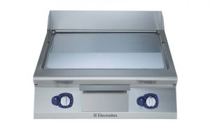 Electrolux 900XP 800mm wide Gas Griddle Chrome Plate