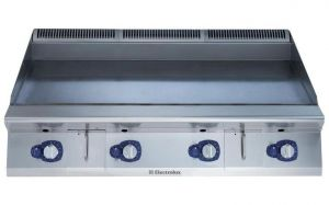 Electrolux 900XP 1200mm wide Gas Griddle Smooth Plate High Performance
