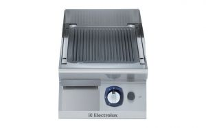 Electrolux Professional 700XP 400mm wide Gas Griddle Ribbed Plate