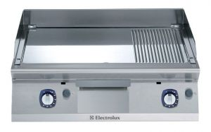 Electrolux 700XP 800mm wide Gas Ribbed & Smooth Chrome Plated