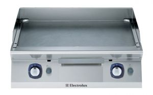 Electrolux 700XP 800mm wide Gas Griddle Smooth Plate