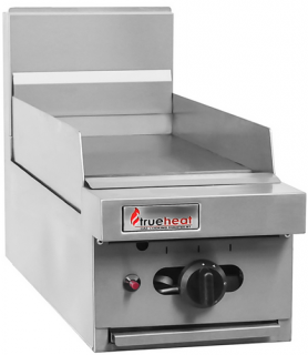 Trueheat 300mm natural gas Griddle bench top model