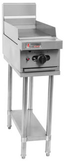 Trueheat 300mm Natural gas Griddle on stand