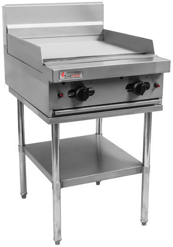 Trueheat 600mm Natural gas Griddle on stand