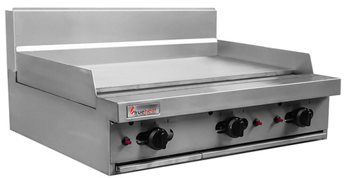 Trueheat 600mm natural gas Griddle bench top model