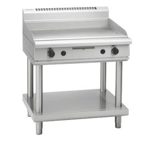 Waldorf 800 Series 900mm Gas Griddle Leg Stand