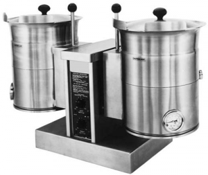 Cleveland electric tabletop steam jacketed Kettle twin 23Lt