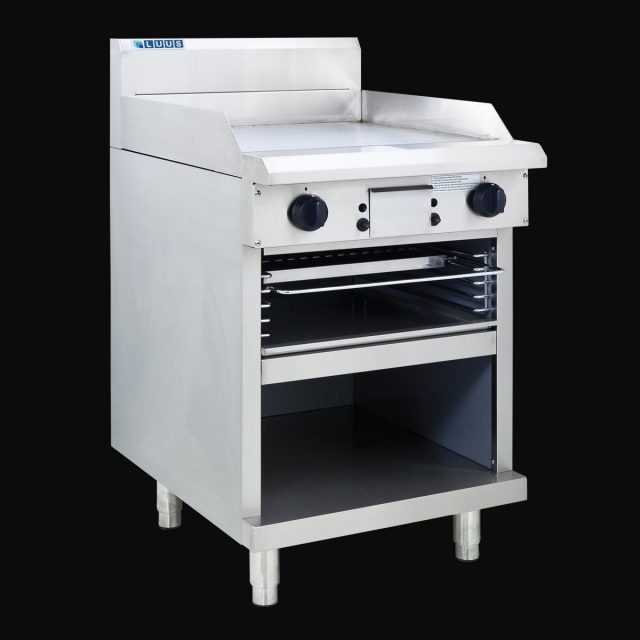 LUUS 600MM WIDE GRIDDLE & TOASTER