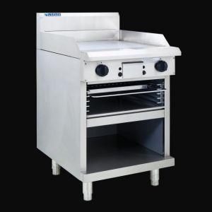 LUUS 600MM WIDE GAS GRIDDLE & TOASTER