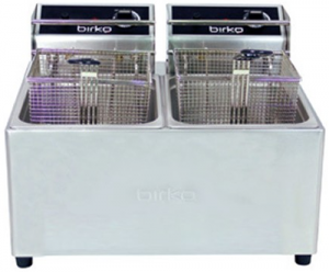 Birko double Pan 2 x 5 Ltr Electric Fryer